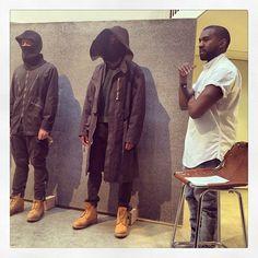A.P.C. Kanye West Fall/Winter 2014 Presentation Debuts During Paris Fashion Week | UpscaleHype