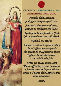 GESU' E' DI RITORNO ORA!: Madonna, Jesus Loves Me, Christian Inspiration, Inspirational Quotes, Faith, Christmas, Frases, Loreto, Rosario