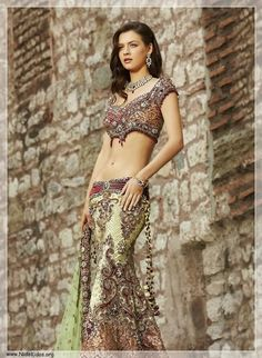 Stunning Bridal Lehenga Designs For Brides Lehenga is a perfect bridal dress for weddings. Lehenga is most useful and fashionable dress as Bridal wear in India, Bangladesh and Pakistan and . Lehenga Designs, Indian Attire, Indian Wear, Indian India, India Fashion, Asian Fashion, Indian Dresses, Indian Outfits, Indian Clothes