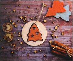 Christmas ornaments handmade. Wood ornaments for by AylilAntoniu