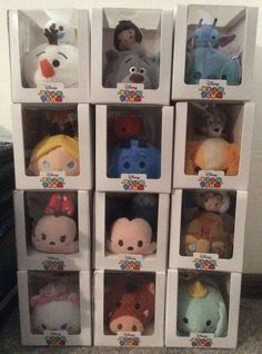 BRAND NEW Disney Store TSUM TSUM SUBSCRIPTION Box COLLECTION Complete Set of 12  #Disney