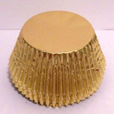 50 Gold Foil Cupcake Liners by LulusCupcakeBoutique on Etsy, $3.50