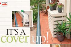 Clever cover-up for air-conditioning units