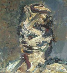 Kunstkabinet: School of London - Frank Auerbach, Lucian Freud en Leon Kossoff Frank Auerbach, Art Cube, Art Criticism, Roman Sculpture, Academic Art, Royal College Of Art, Abstract Portrait, Gravure, Painting & Drawing