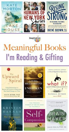 Books that I recommend and am giving as gifts.