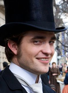Bel Ami :) I kept waiting for him to bring out the Vamp teeth through the whole movie..hahahaa!!!