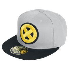 """Cappellino con visiera """"X Logo"""" di #XMen."""