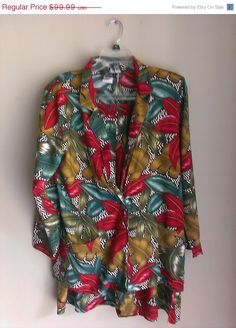 Check out this item in my Etsy shop https://www.etsy.com/listing/195745774/70-summer-sale-vintage-tropical-floral