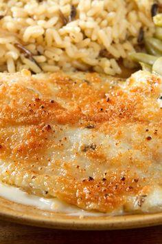 Broiled Tilapia Parmesan Recipe