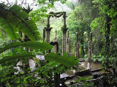 Jardín de la Pozas de Xilitla. México