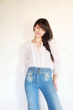 Chloé high-waisted jeans