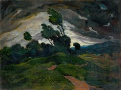 (The hurricane) Pop Art Illustration, Landscape Paintings, Landscapes, Nature, Image, Design, Paisajes, Scenery, Naturaleza