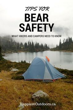 Safety for Hikers, Campers and Backpackers Tips for Bear Safety: What Hikers and Campers Need to Know. *** See even more by going to the photoTips for Bear Safety: What Hikers and Campers Need to Know. *** See even more by going to the photo Camping Info, Camping Diy, Camping Checklist, Camping Essentials, Tent Camping, Camping Gear, Camping Hacks, Outdoor Camping, Camping Stuff