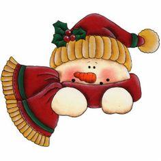Ornement de bonhomme de neige de Noël Découpages En Acrylique