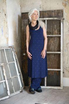 Weihnachten 2014 - Das Kleid Irina aus Micromodal ist ein echtes Lieblingskleid, das ideal zum Lagenlook passt. http://www.gudrunsjoeden.de/mode/produkte/kleider