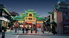 Chinatown Gate--we love China Town.