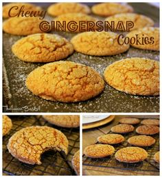 The Hen Basket: Chewy Gingersnap Cookies