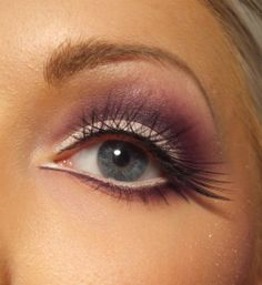 Purple & Lashes
