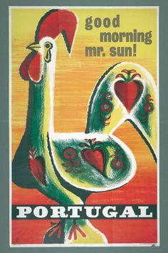 Design de Tom, 1964, Vintage Poster, Portugal