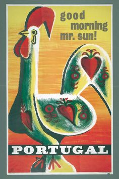 Design de Tom, 1964  Portugal, vintage travel poster                                                                                                                                                     Mais