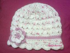 virkattu vauvan hattu-crochet baby hat