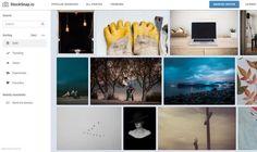StockSnap es un sitio repleto de fotografías e imágenes de dominio público, para usar en todo tipo de proyectos sin necesidad de atribución.