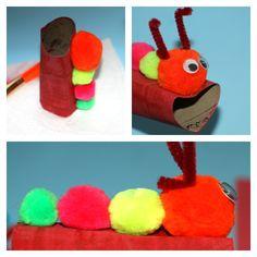 love bug pom pom craft