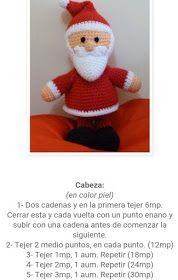 The Friends of Paloma: Santa Claus Amigurumi (Free Pattern) - Loycehpo Crochet Amigurumi, Amigurumi Doll, Crochet Hats, Crochet Patron, Free Pattern, Creations, Santa, Merry, Teddy Bear