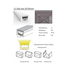 free ship flexible LED linear lights – USKY-LED