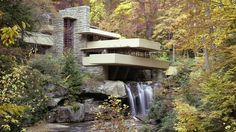 Falling Water by Frank Lloyd Wright