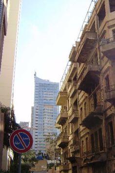 Beirute, Líbano: Contraste entre a destruição e a reconstrução de uma cidade pós-guerra. #coolhubbing #beirut #beirute