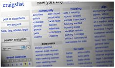 15 Ways you Can be Scammed via Craigslist
