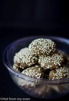 Black Sesame Cookies.