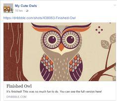 Cute Owl Cartoon, Folk Art, Moose Art, Poster, Animals, Colorful, Holidays, Google, Birds