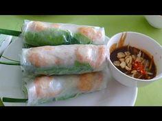How to make Vietnamese Fresh Spring Roll (GOI CUON)