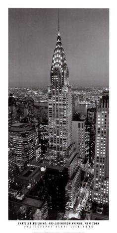 New York, New York, Chrysler Building Print by William Van Alen at eu.art.com