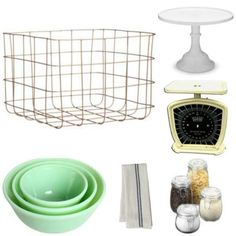 glass bowls at houzz 6 Great Looks for Open Shelving--Which One's For You?: Vintage Accessories for Open Shelves