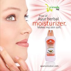 Pros of Ayur herbal moisturizer.  Makes my skin soft. Soothing fragrance. Helps skin to get a natural glow even in daylight