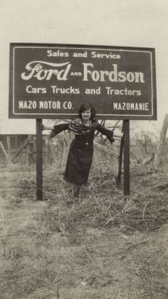 Ford car & tractor dealer, Wisconsin