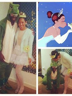 Make this Halloween a magical affair with these romantic and cute couples costumes inspired by the best Disney couples. Disney Couple Costumes, Cute Couples Costumes, Easy Diy Costumes, Disney Halloween Costumes, Disney Couples, Halloween Kostüm, Couple Halloween, Costume Ideas, Princess Tiana Costume