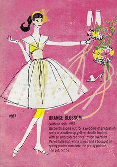 Barbie - Orange Blossom #987