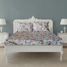 Cearceaf de pat cu elastic | cearceaf pat cu elastic 160x200cm+fete perna cod051 | Lenjerii de pat fabricate in Romania - preturi de producator!