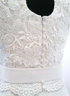 mara.zb / svadobné šaty Gabi / krajkové,krémové