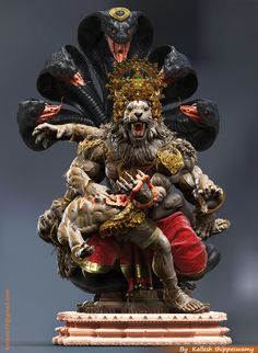 Here i am uploading some images of Lord NARASIMHA.Narasimha is the Avatar of the Hindu god vishnu which is one of the Dashavatara,Based Stories from Hindu Mythology. Hanuman Images, Lord Shiva Hd Images, Arte Krishna, Lord Hanuman Wallpapers, Hindu Statues, Shri Hanuman, Mahakal Shiva, Lord Shiva Family, Shiva Wallpaper
