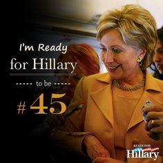 Hillary Rodham Clinton for President 2016 Wife, mom, lawyer, women &… Hillary For President, Hillary Clinton 2016, Bill And Hillary Clinton, Madam President, Hillary Rodham Clinton, Hair Icon, 2016 Presidential Election, 2016 Election, Thing 1
