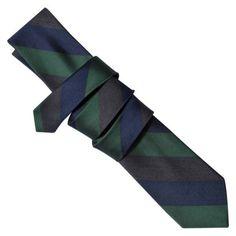 Merona® Men's Rugby Stripe Tie - Green/Blue.Opens in a new window