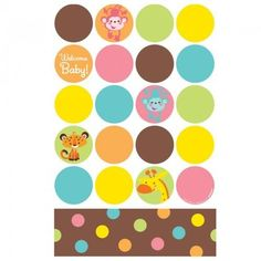 Fisher Price Baby Shower Plastic Tablecover   Http://www.247babygifts.net
