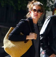 Charlotte Casiraghi and Gad Elmaleh in Hollywood 2/20/15