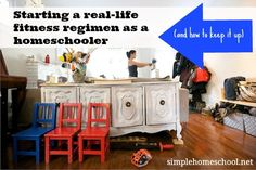 Starting a real-life fitness regimen as a homeschooler (and how to keep it up)
