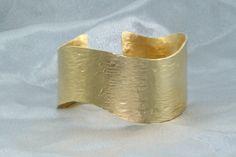 Sale Brass Gold Plated, Cuff Bracelet, Beautiful Woman Bracelet,Delicate Gold Plated Bracelet, Cuff Bracelet | Christmas gift by LIRANSHANI on Etsy